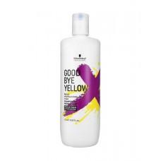 Schwarzkopf professiona Goodbye Yellow - Šampūns silto toņu neitralizācijai 1000 ml