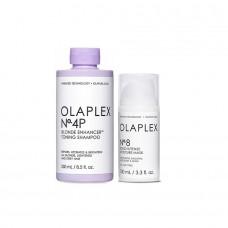 Olaplex komplekts No4P + No8